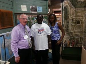 Dr. Bruce Hodges, Dr. Jacob and Dr. Elizabeth